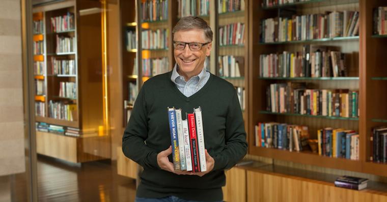 Bill Gates books fb