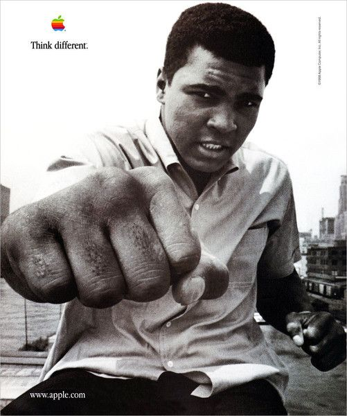 Muhammad Ali Think Different