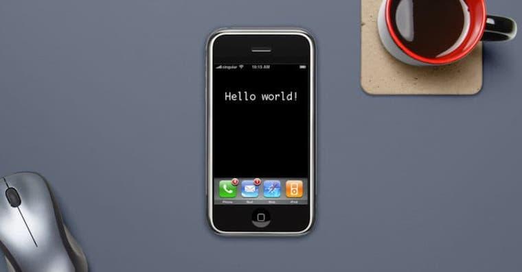 iPhone2G hello world FB