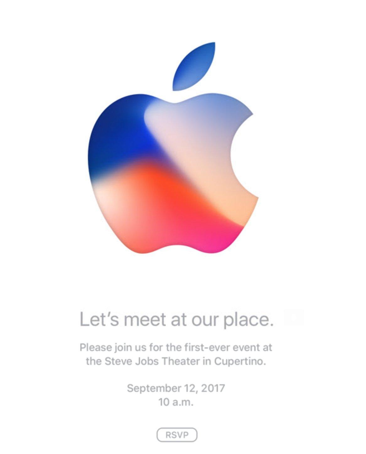 Apple iPhone event 2017