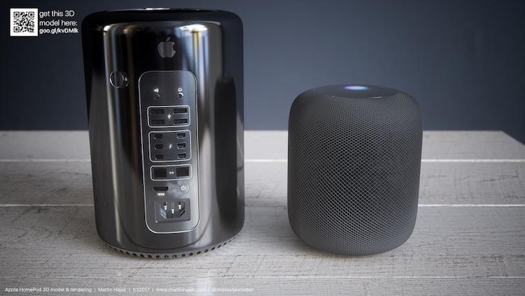 HomePod vs Mac Pro 1