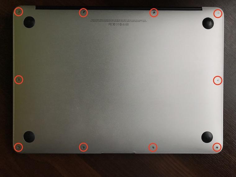 Jak vymenit baterii MacBook Air 3