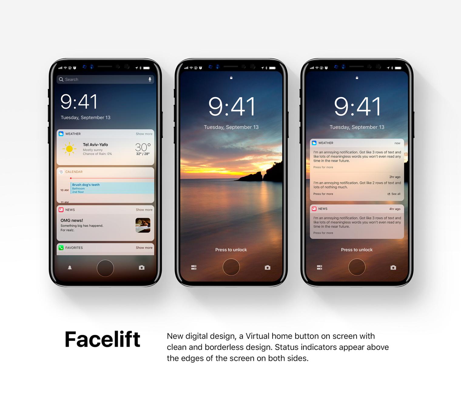iOS 12 iphone8 concept (27)