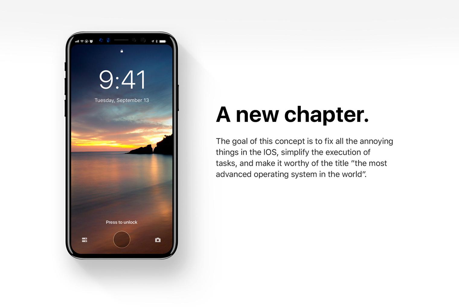 iOS 12 iphone8 concept (28)