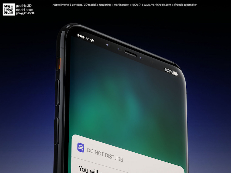 iPhone 8 renders Martin Hajek 1