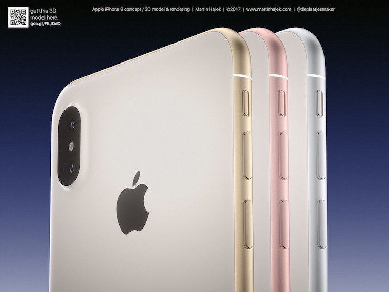 iPhone 8 renders Martin Hajek 7