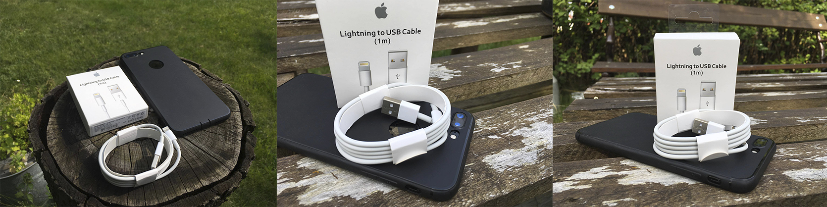 tvrzeny sklo lightning kabel