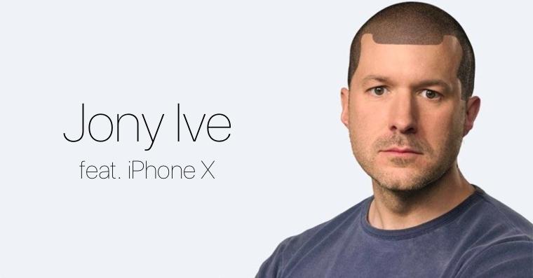 Jony Ive iPhone X joke FB