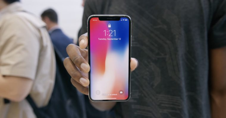 iPhone X front FB