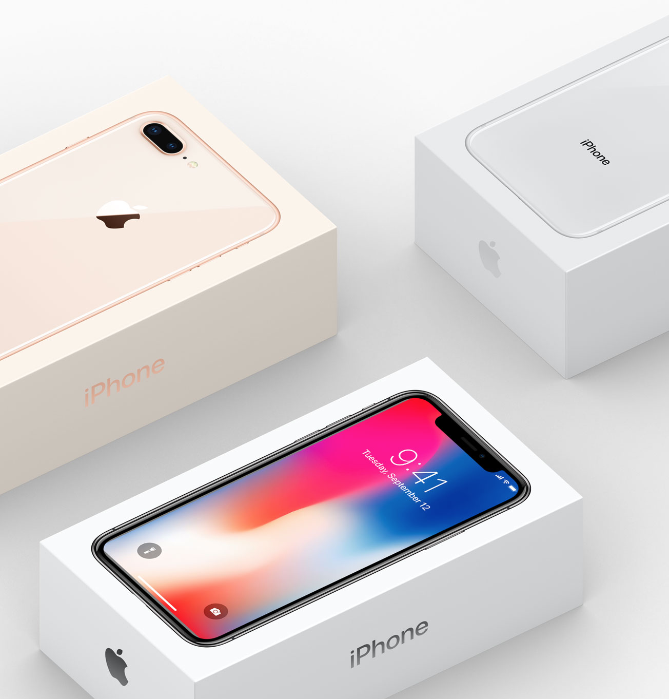 iPhone X Packaging
