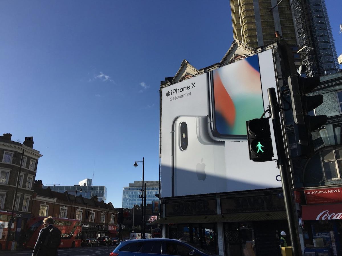 iPhone X billboards 3
