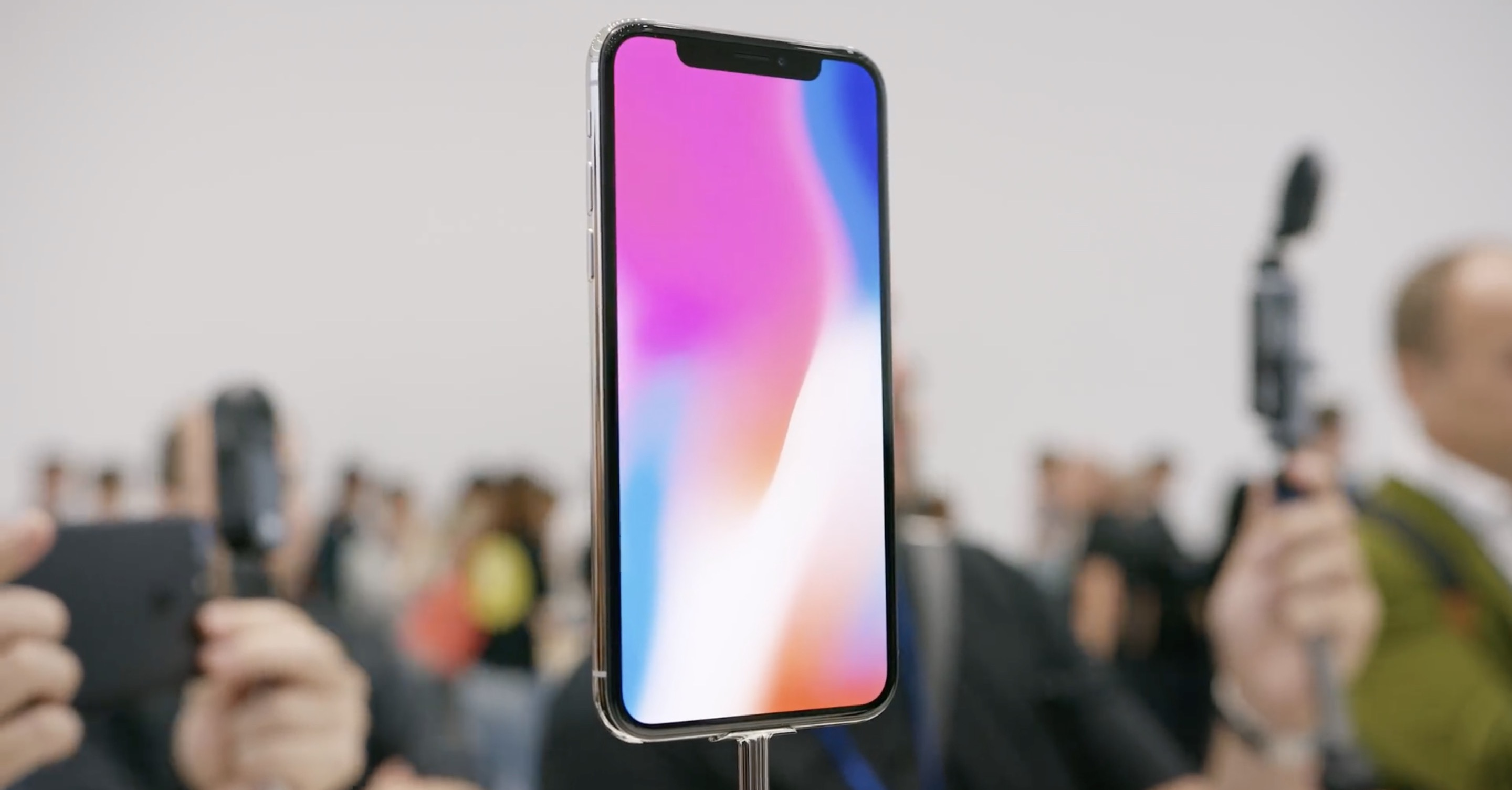 iPhone X display FB