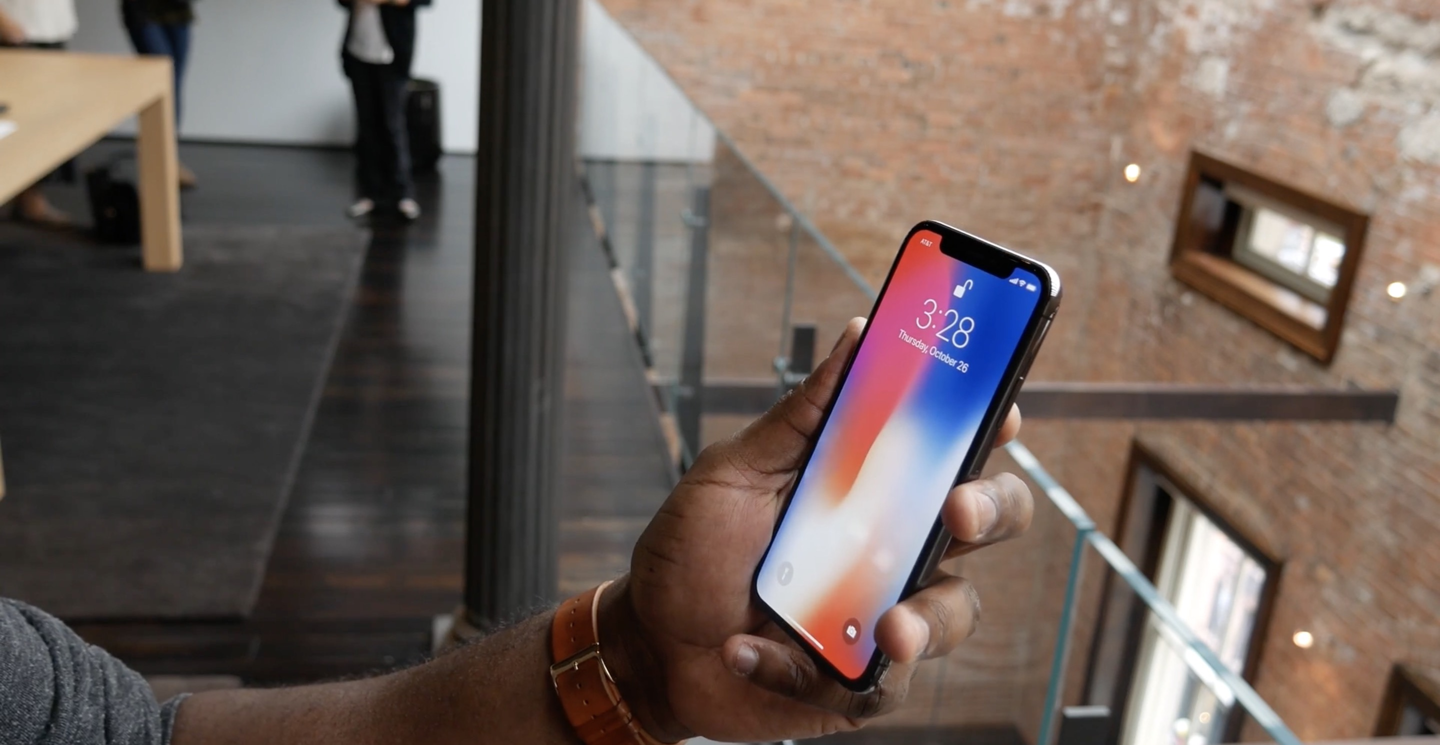 iPhone X hands-on FB
