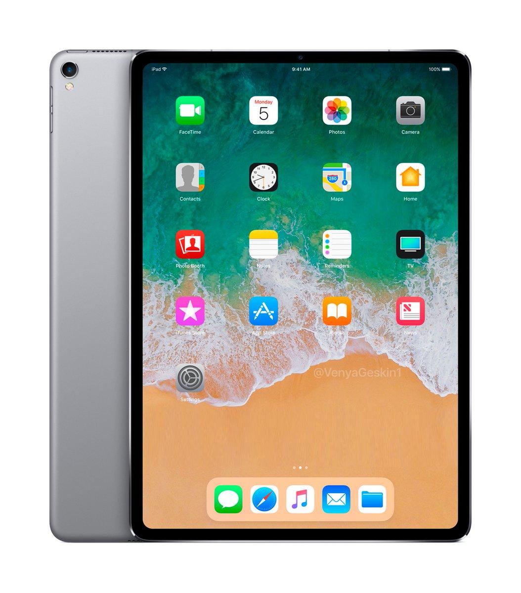 2018 iPad Pro render 2
