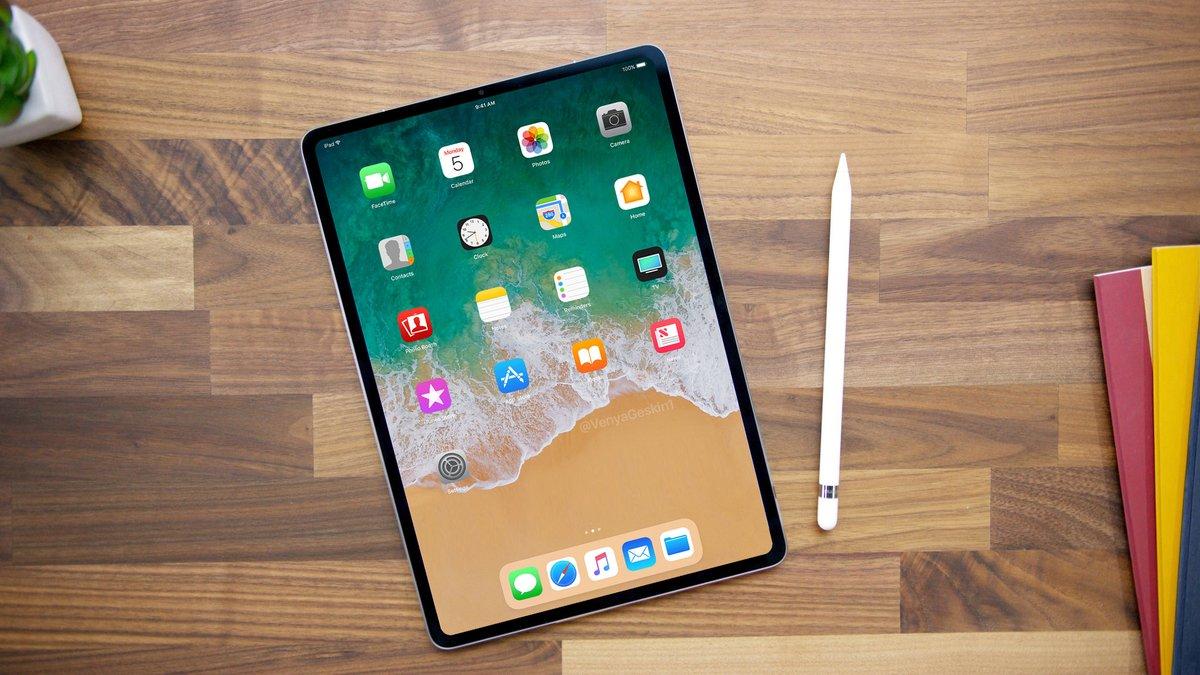 2018 iPad Pro render 3
