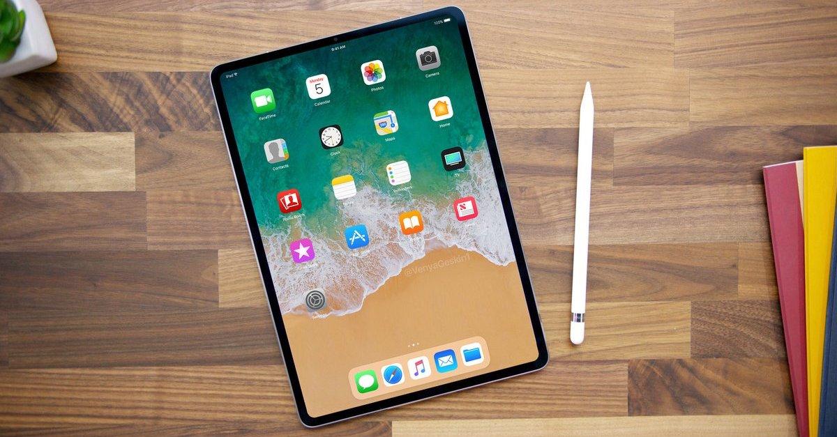 2018 iPad Pro render FB