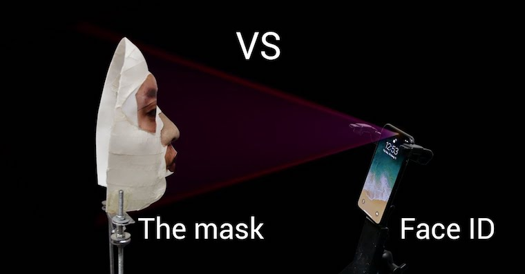 Face ID 3D mask FB