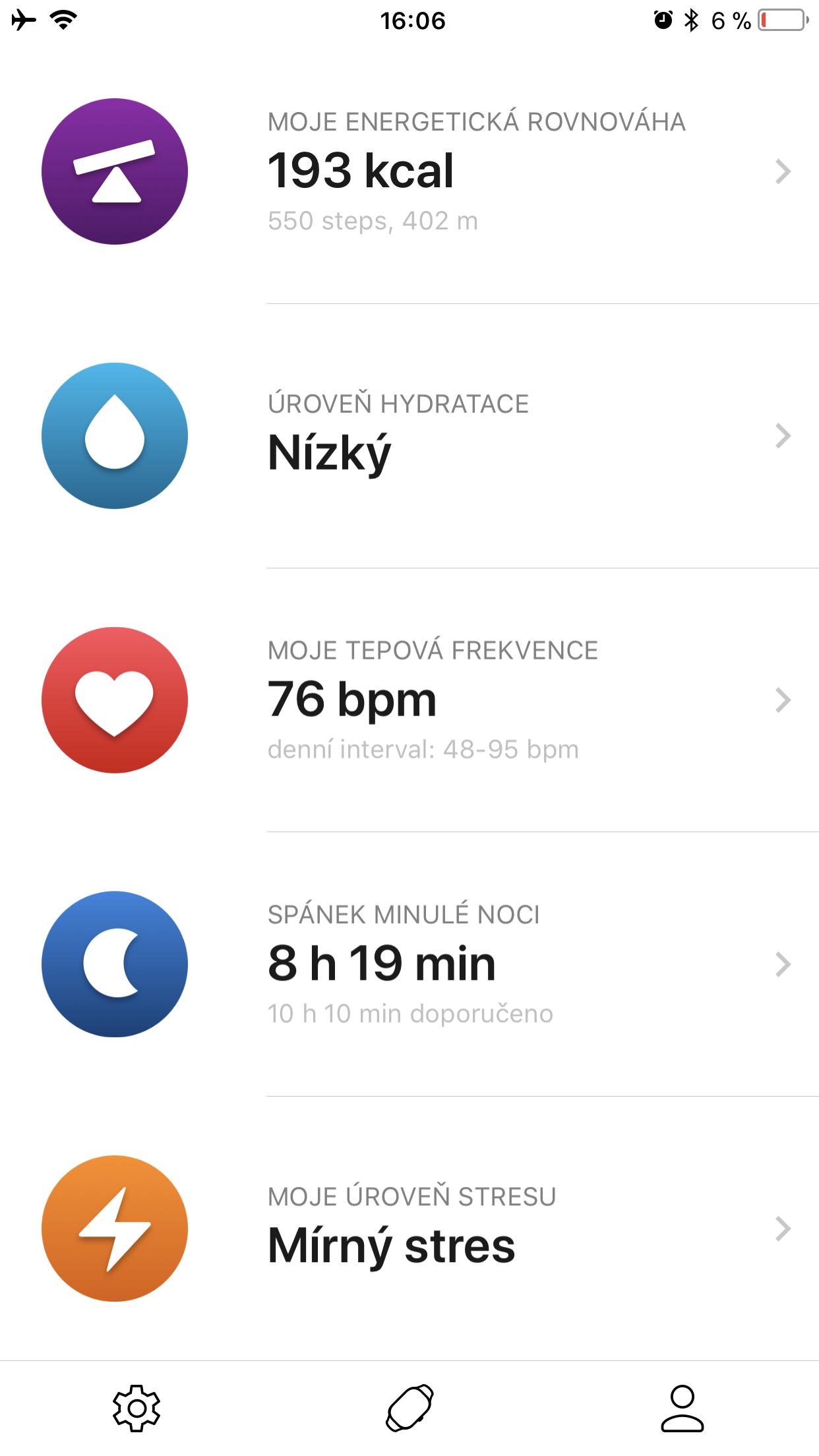 Healbe GoBe 2 aplikace 3
