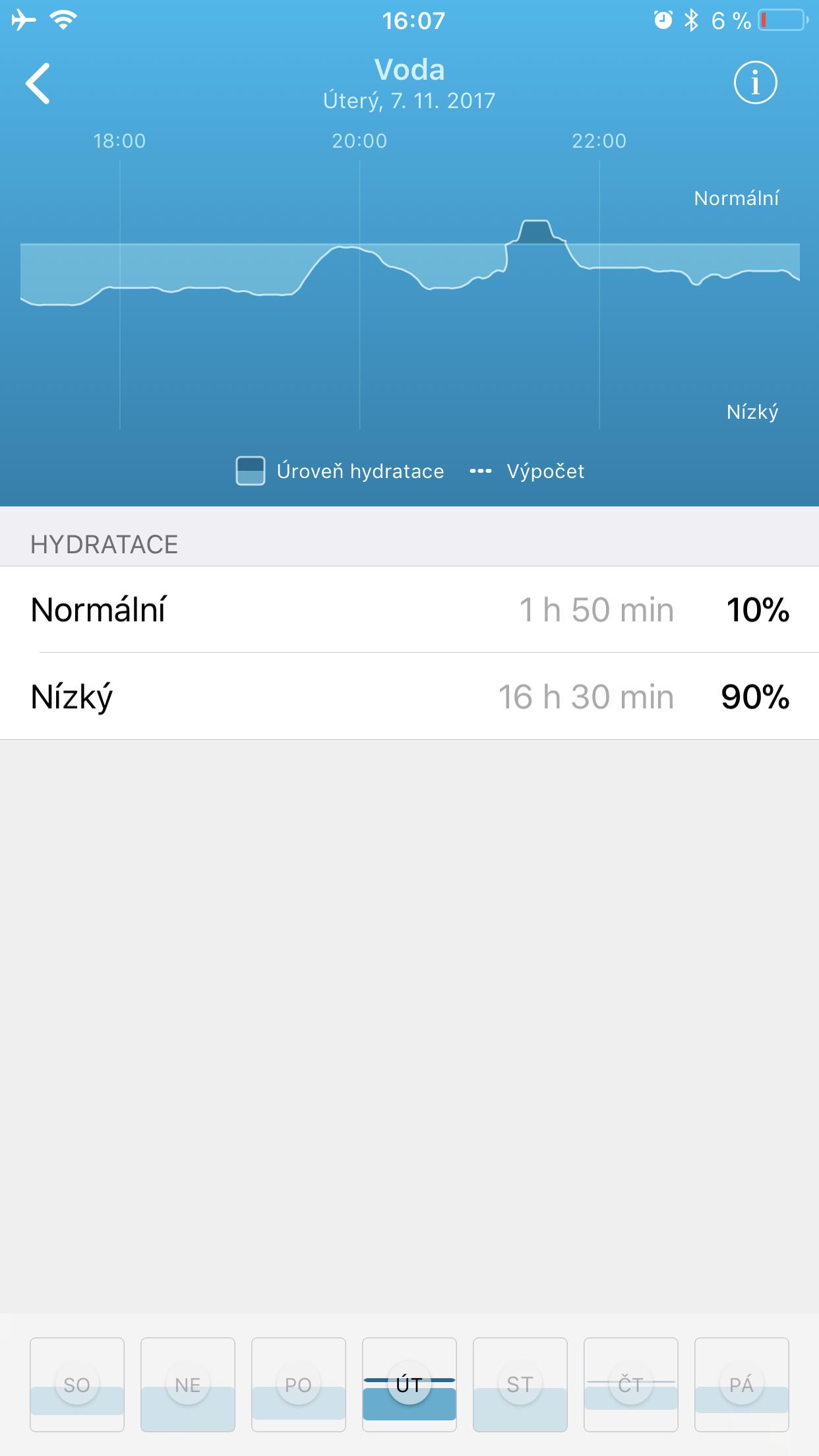 Healbe GoBe 2 aplikace 5