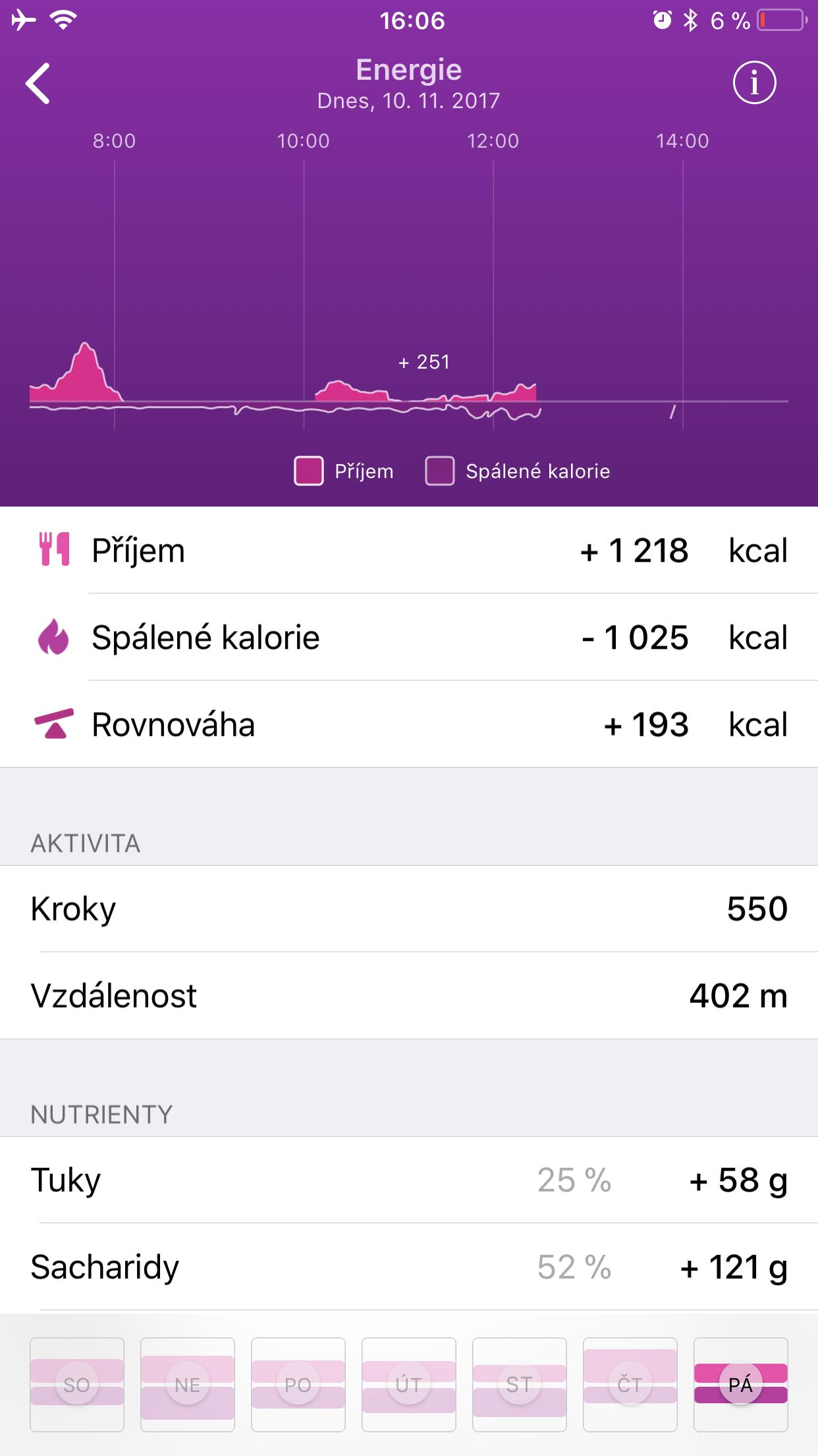Healbe GoBe 2 aplikace 8