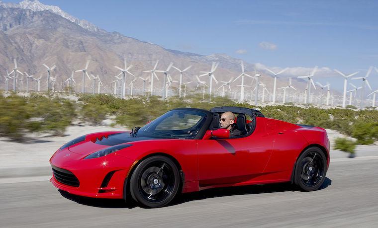 Tesla Roadster 200810