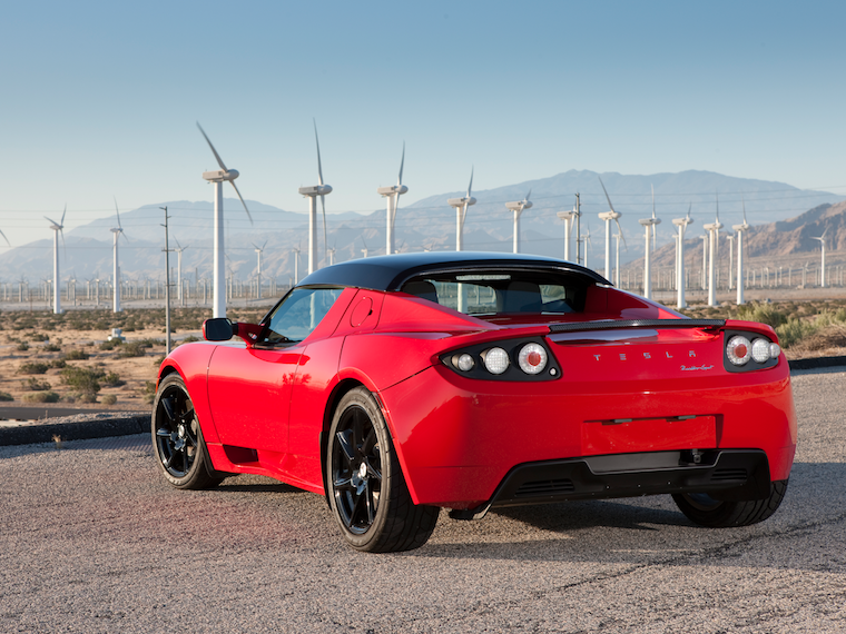 Tesla Roadster 20082