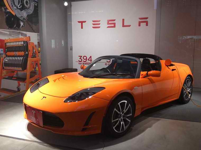 Tesla Roadster 20089