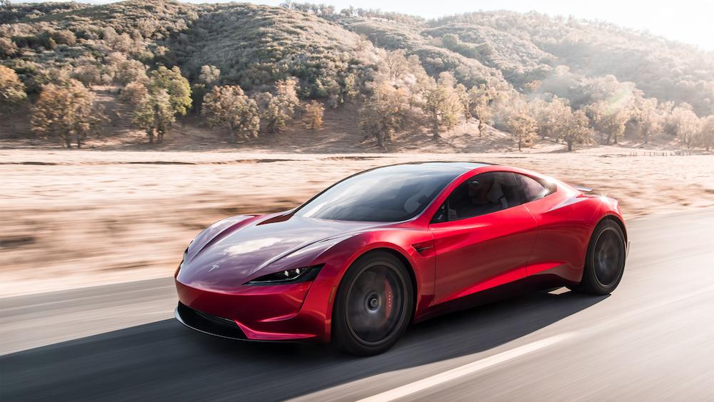 Tesla Roadster 20174