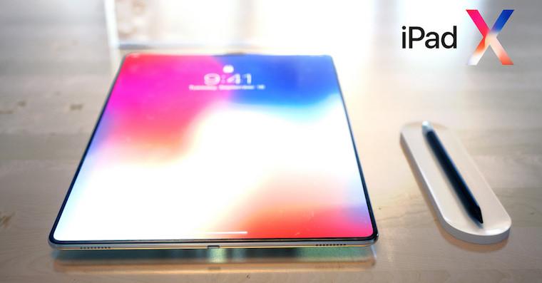 iPad X concept FB