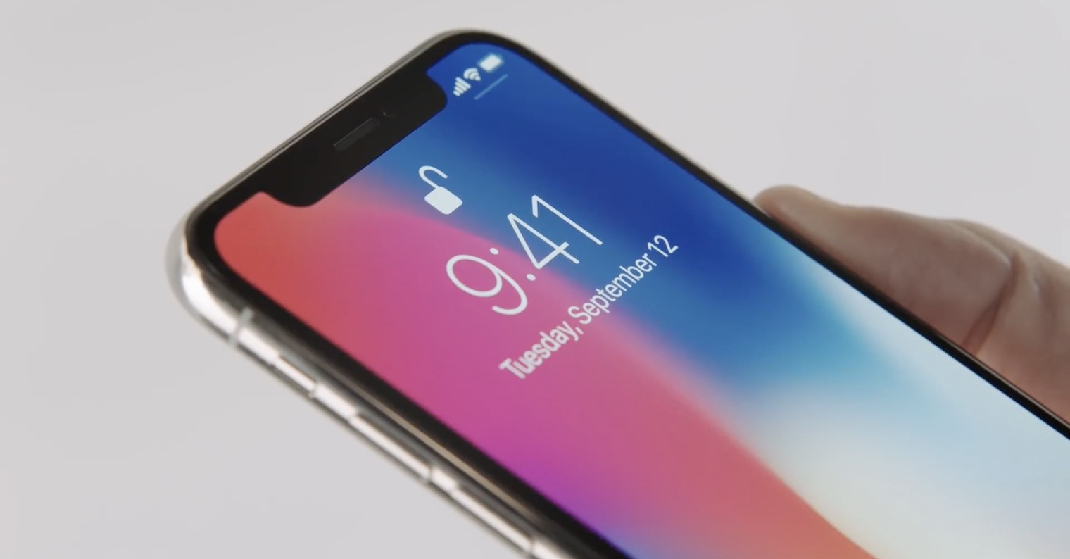 iPhone X Face ID unlock FB