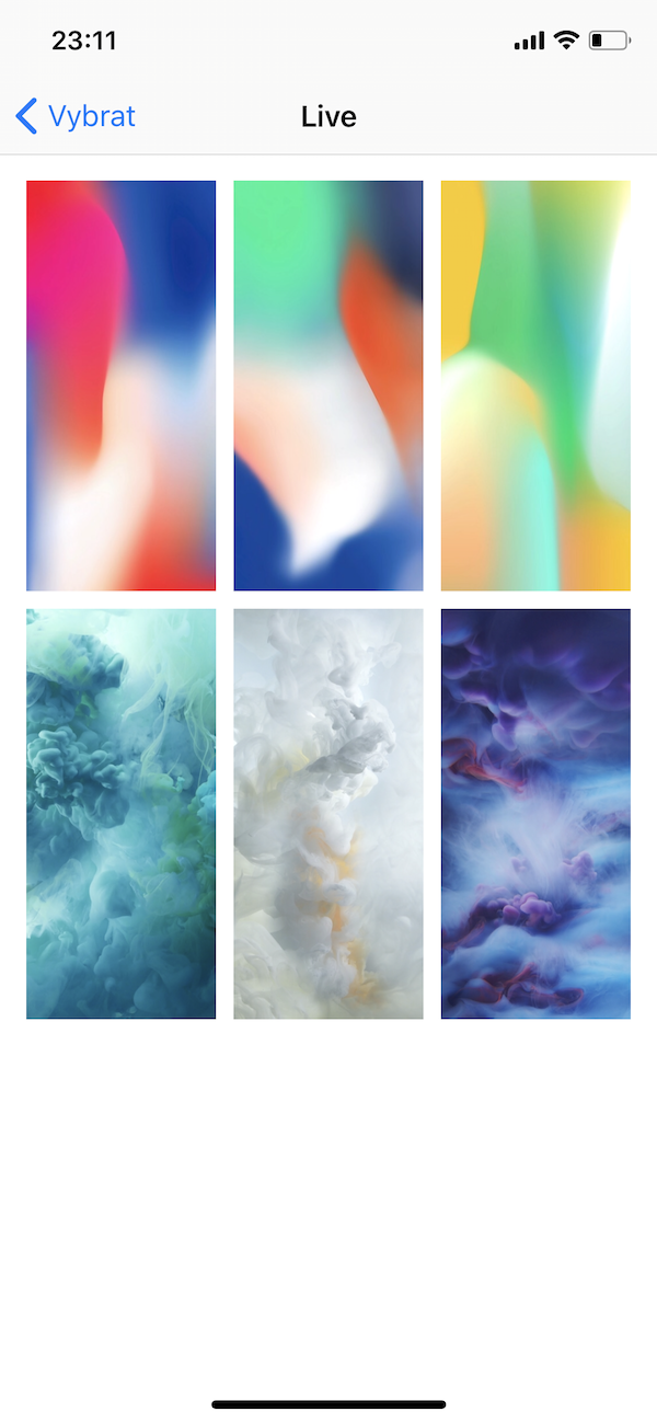 iPhone X new live wallpapers 3