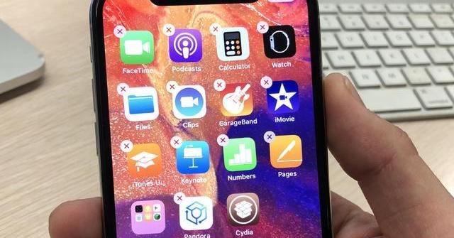 iOS 11.2.1 jailbreak iPhone X 1