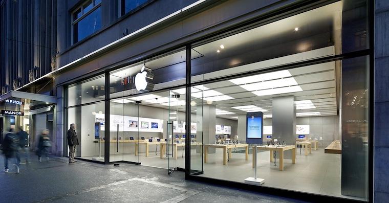 Apple Store Zurich FB