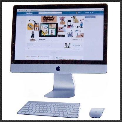 Apple-iMac-Paper-Model
