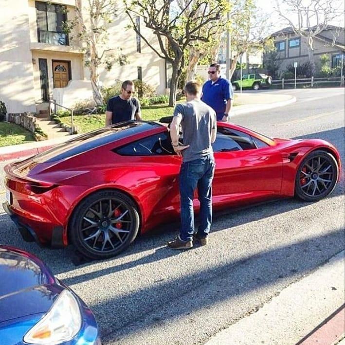 Tesla roadster street 1