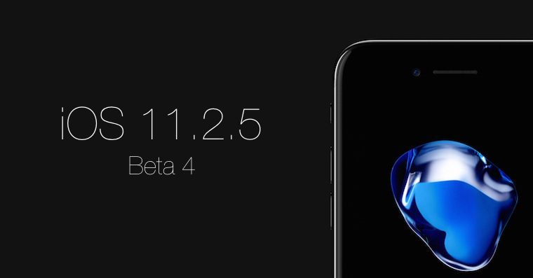 iOS 11.2.5 Beta 4 FB