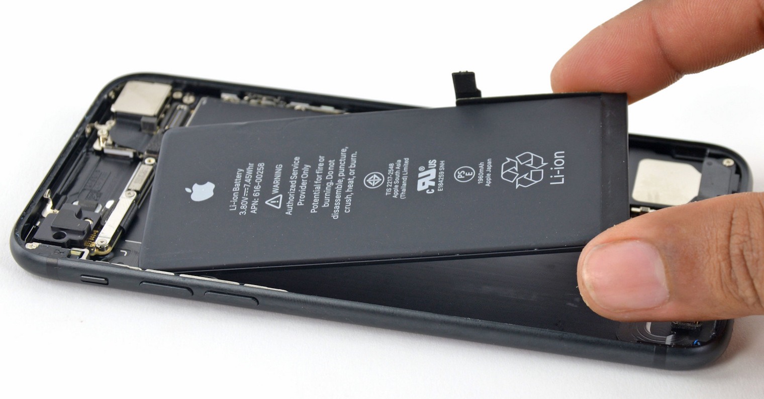 iPhone 7 battery replacement FB