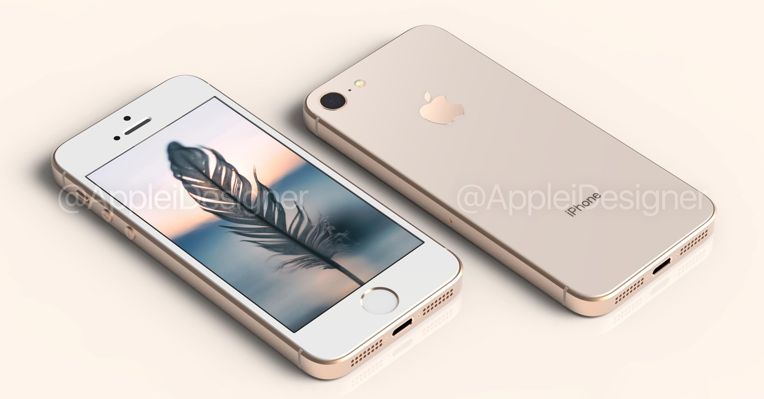 iPhone SE 2 concept FB