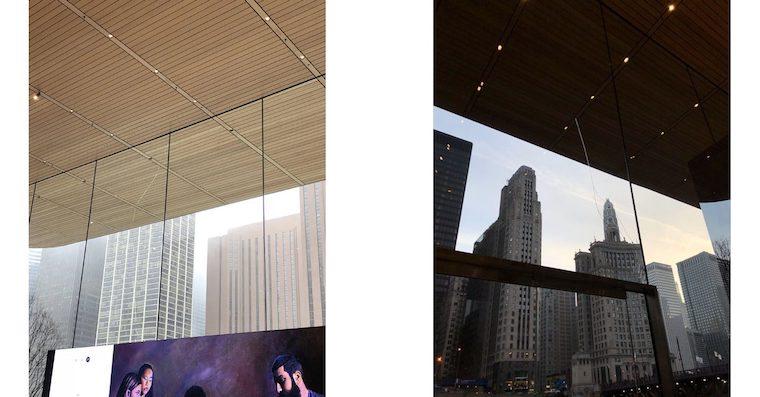 V Chickagu majú obrovský problém. Postupne im začína praskať jedne kúsok skla v novo otvorenom Apple Store - svetapple.sk