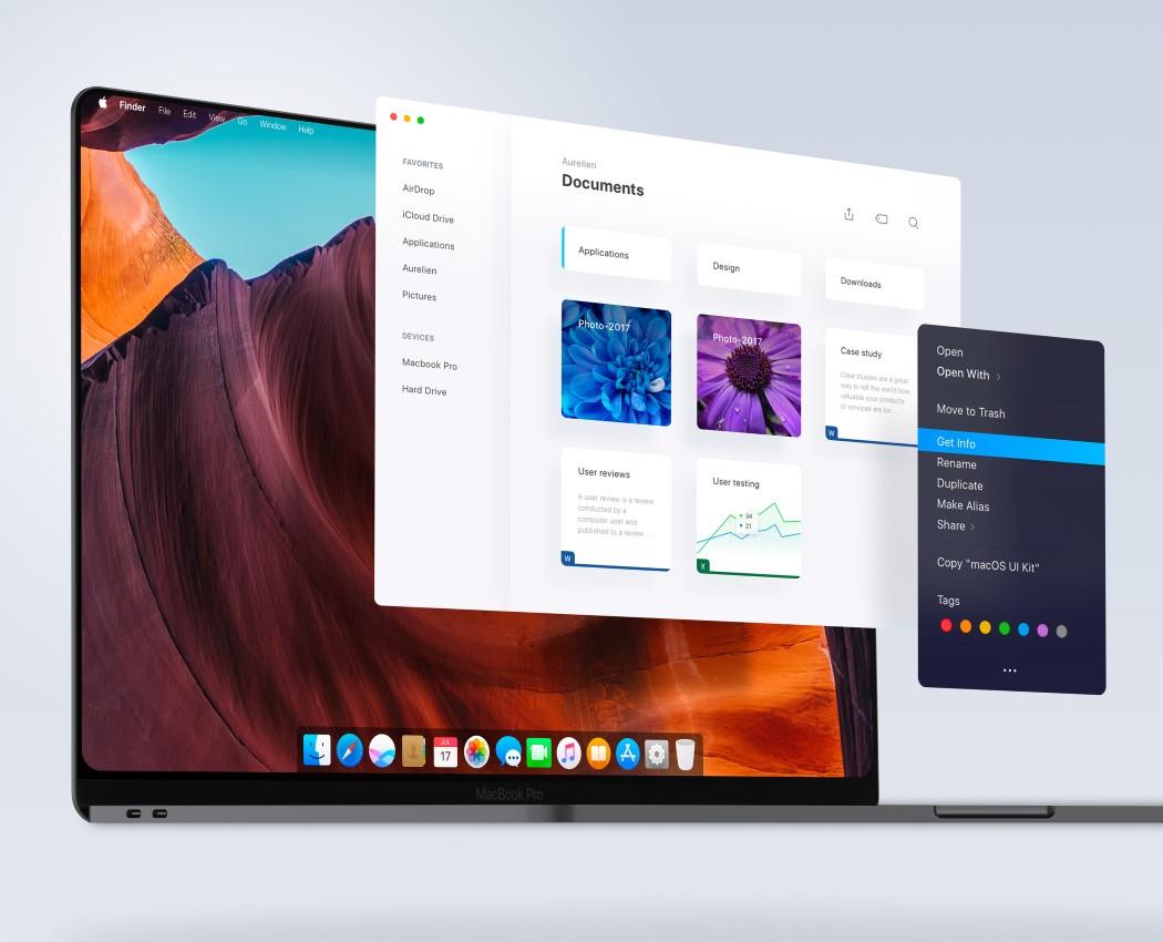 Celému počítaču by sa muselo prispôsobiť aj používateľské rozhranie MacOS - svetapple.sk