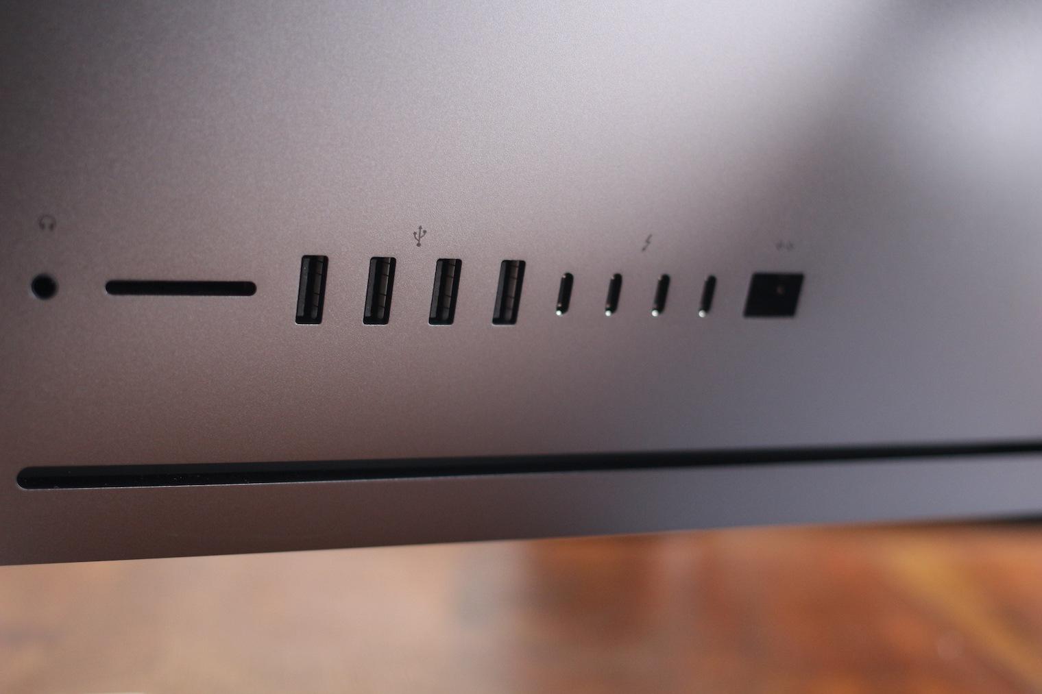 iMac Pro ports