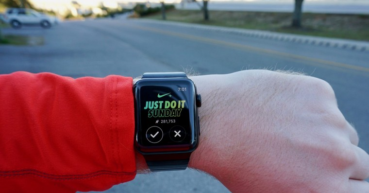 nike run club apple watch fb