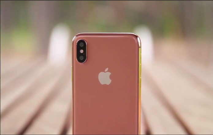 iphone x gold 1