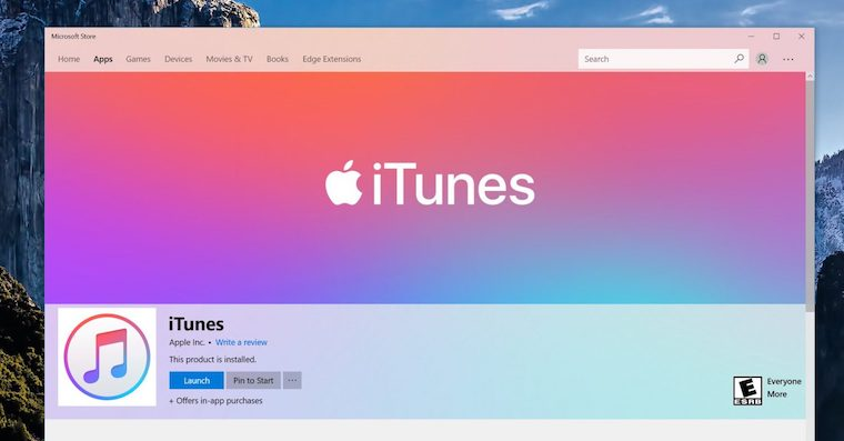 download itunes for windows 10 home