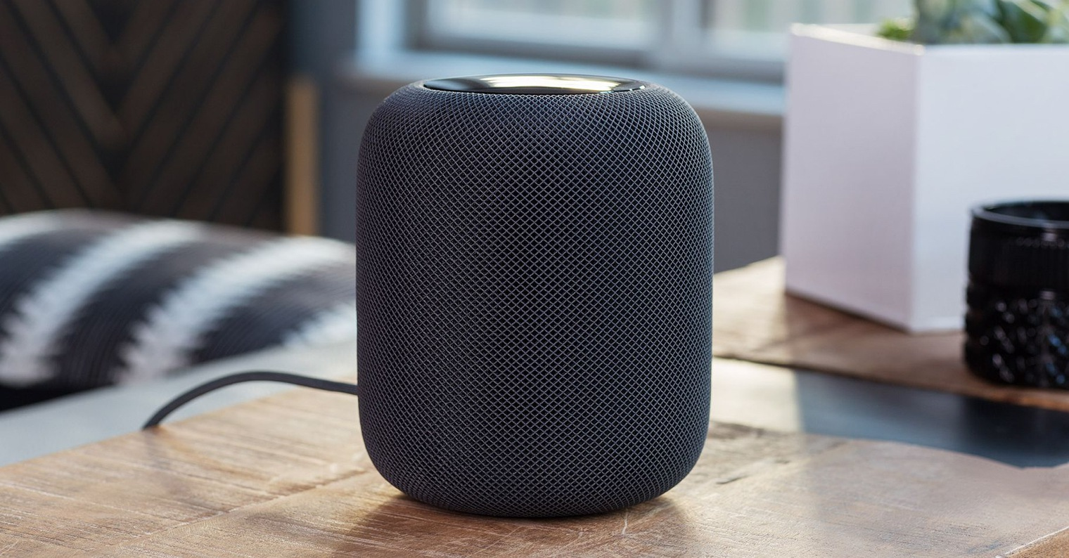Apple HomePod recenze FB