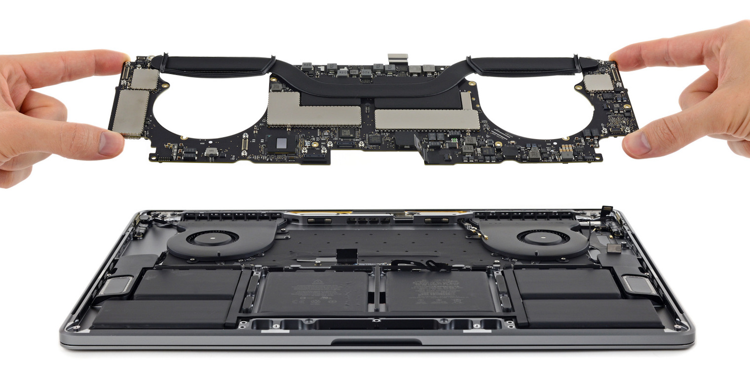 MacBook Pro teardown FB
