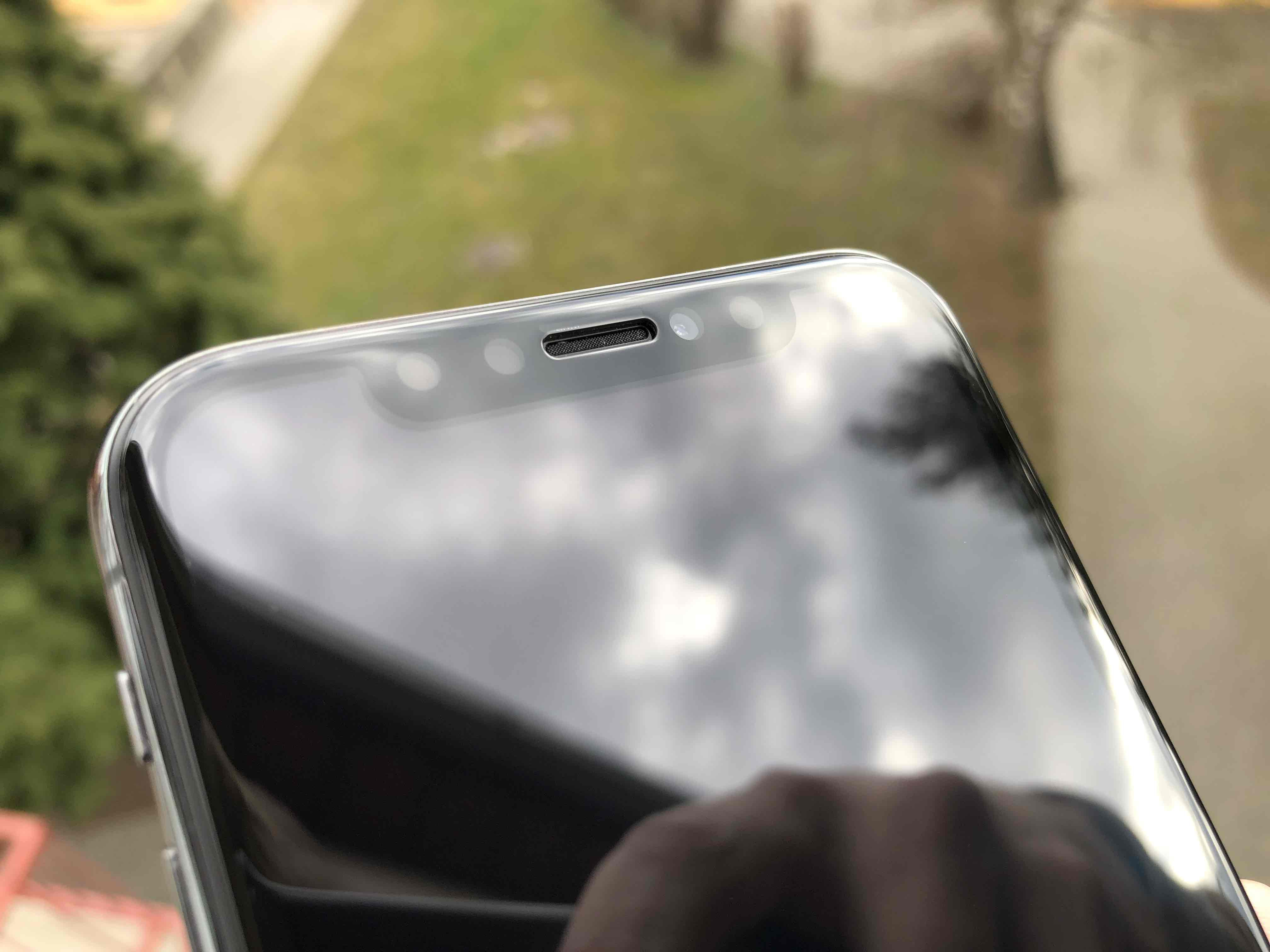 PanzerGlass iPhone X test 1