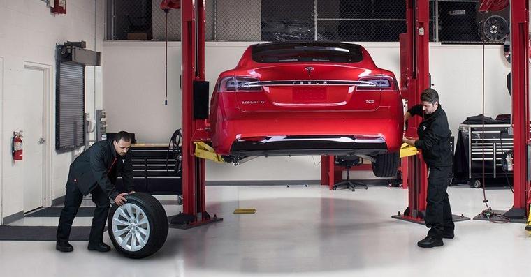 Tesla service FB