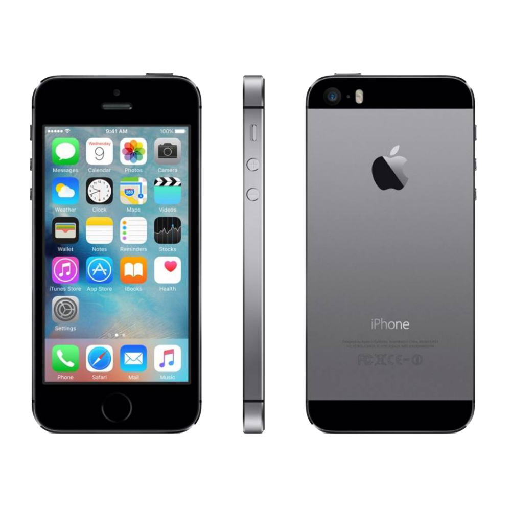 iPHone 5s Space Gray zdroj SmackTeckPhones