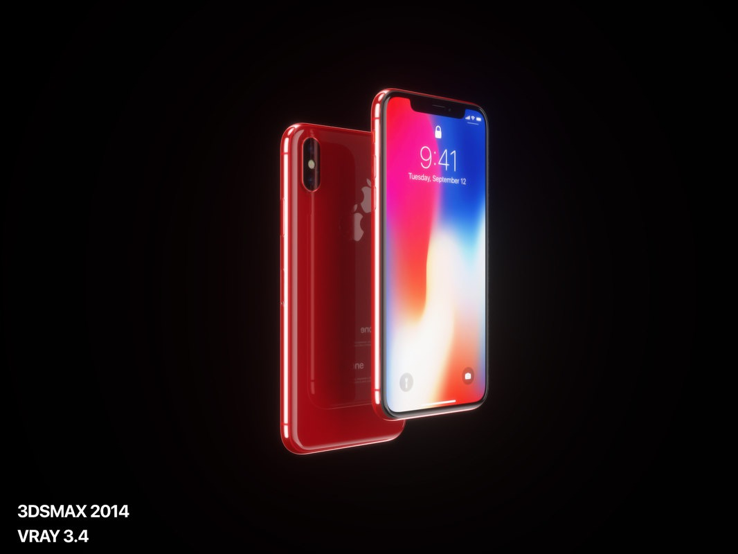 iPhone X (PRODUCT)RED 1